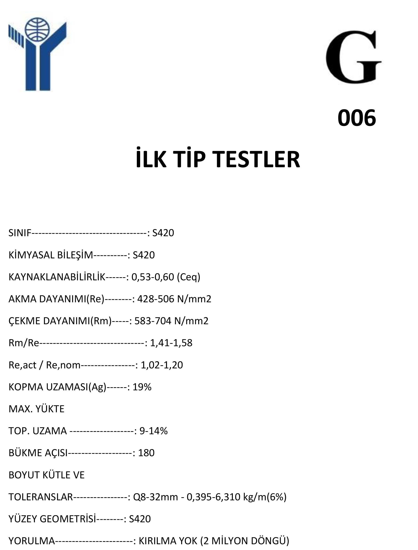 İlk-Tip-Test